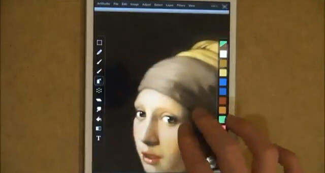 Girl with a Pearl Earring06